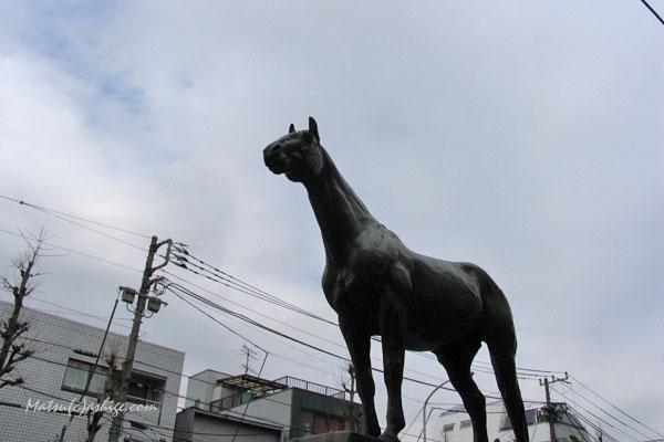 トウルヌソル像 2014 元競馬場