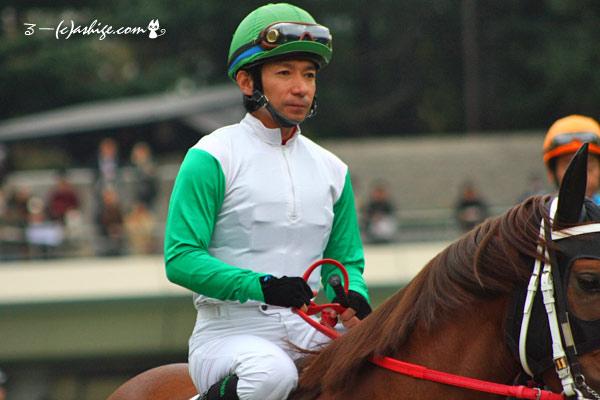 内田博幸騎手 2014 東京競馬場